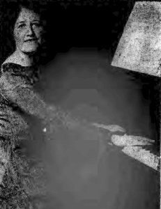 Ursula Greville Pictured in a  newspaper article from 1926 [2]